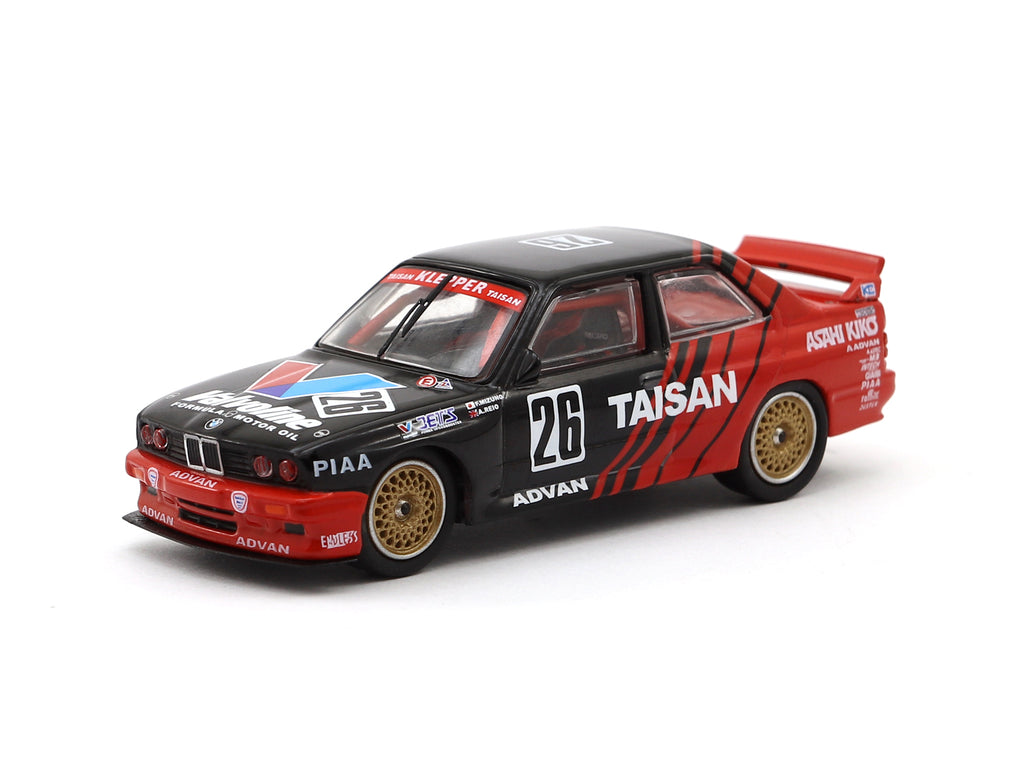 Tarmac Works 1/64 BMW M3 E30 - Class 2 Winner of Round 3 Sugo JTCC 1992 - Mizuno/ Reid