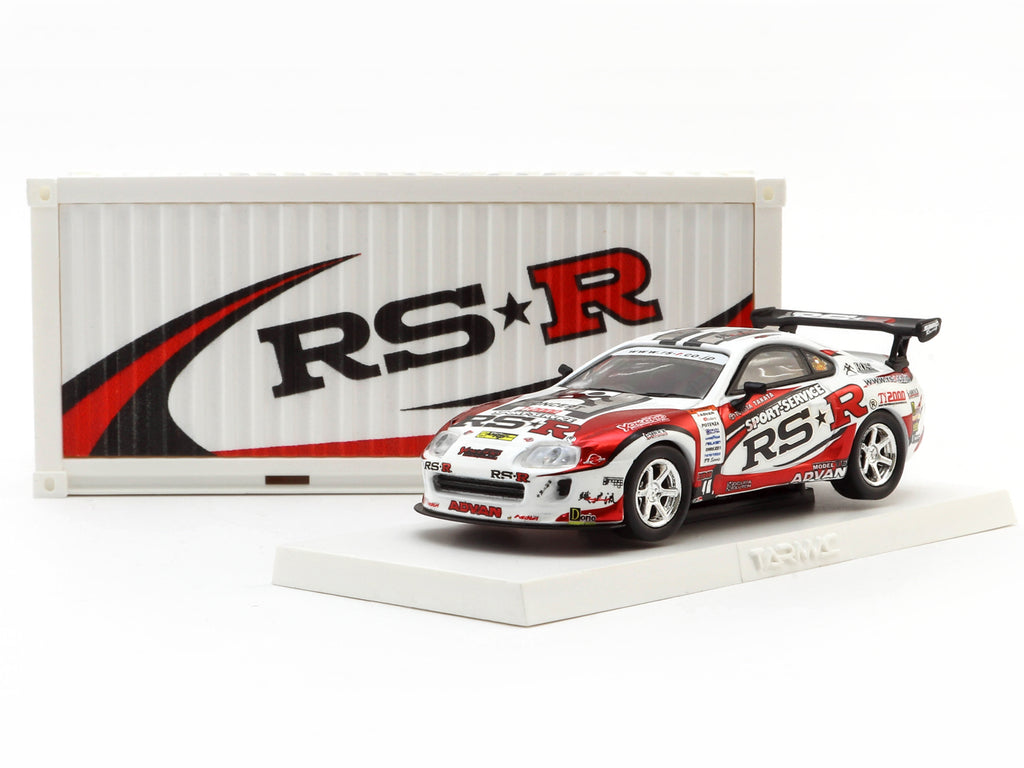 Tarmac Works 1/64 Toyota Supra Toyota Supra RSR D1 Drift Car * Webstore Exclusive