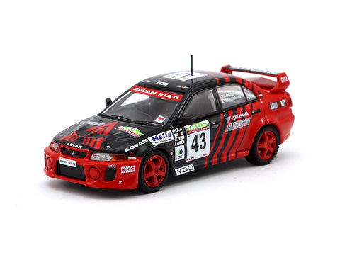 Tarmac Works 1/64 Mitsubishi Lancer Evolution V New Zealand Rally 1999 #43