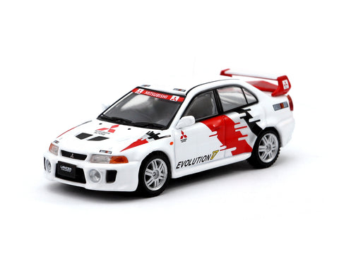 Tarmac Works 1/64 Mitsubishi Lancer Evolution V Ralliart Presentation Edition - Hong Kong Exclusive Model