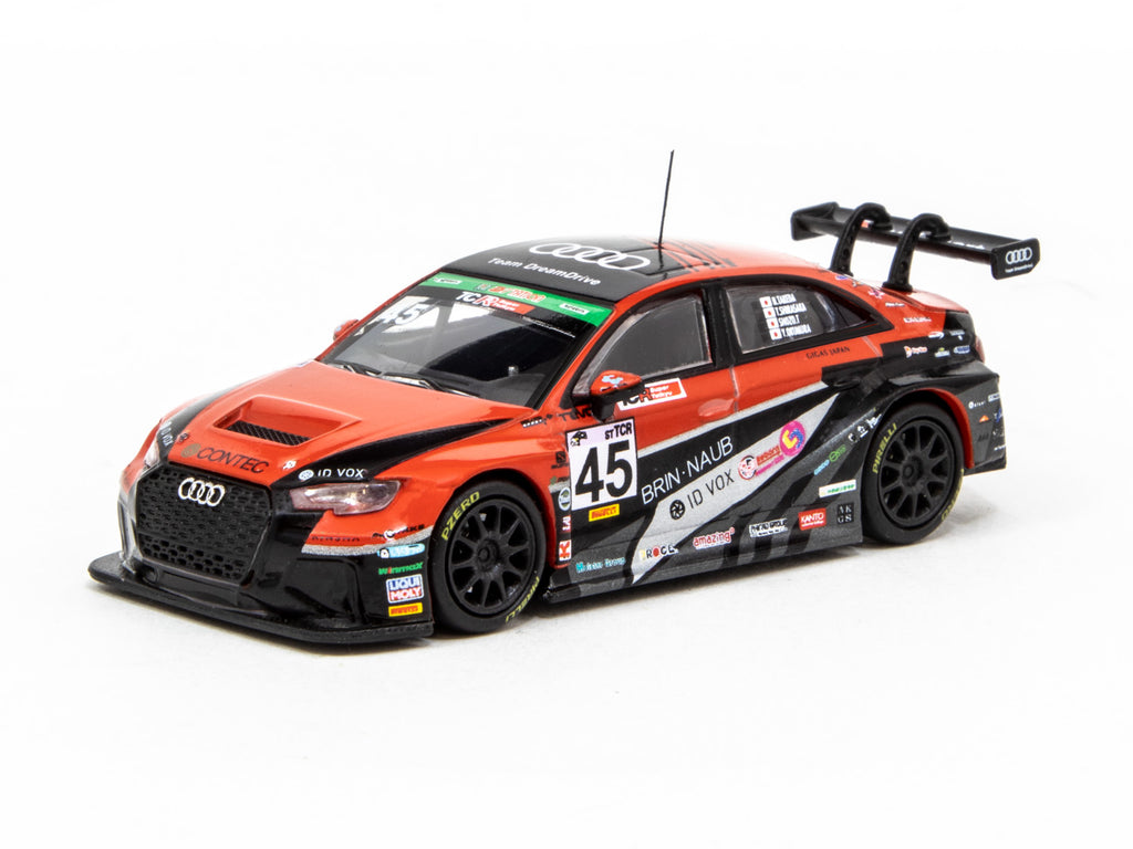 Tarmac Works 1/64 Audi RS 3 LMS Super Taikyu Series 2019 #45 Team Dream Drive Special Edition