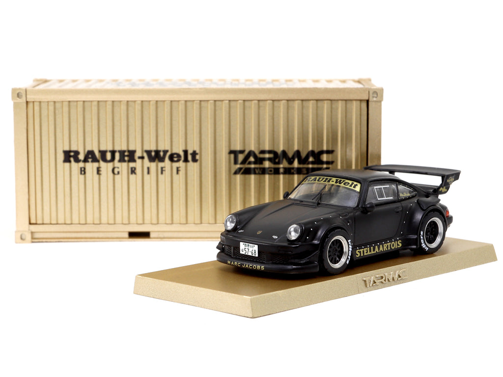 Tarmac Works 1/64 RWB 930 Stella Artois **with container display case