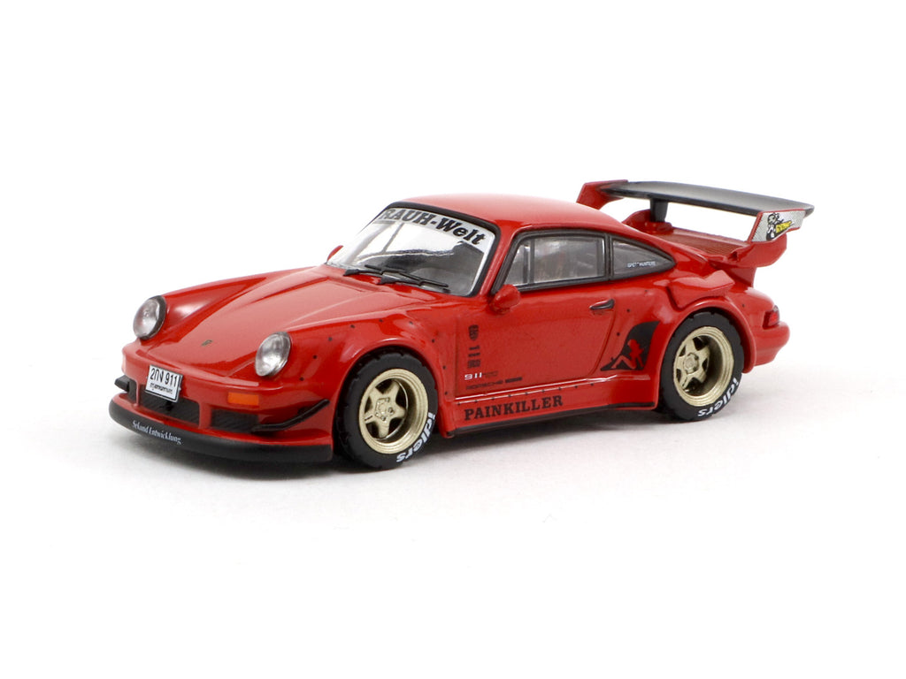 *Bangkok Auto Salon 2019 Event Special Model* Tarmac Works 1/64 RWB 930 Painkiller