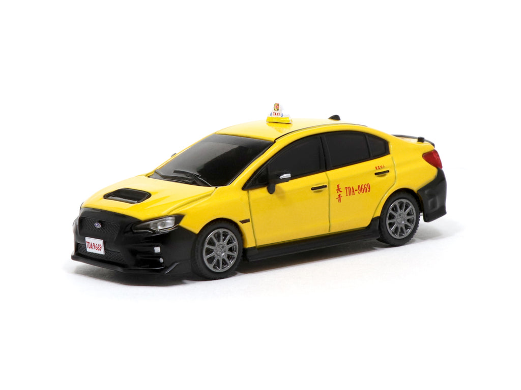 *Taiwan Exclusive Model* Tarmac Works 1/64 Subaru WRX STI Taiwan Taxi