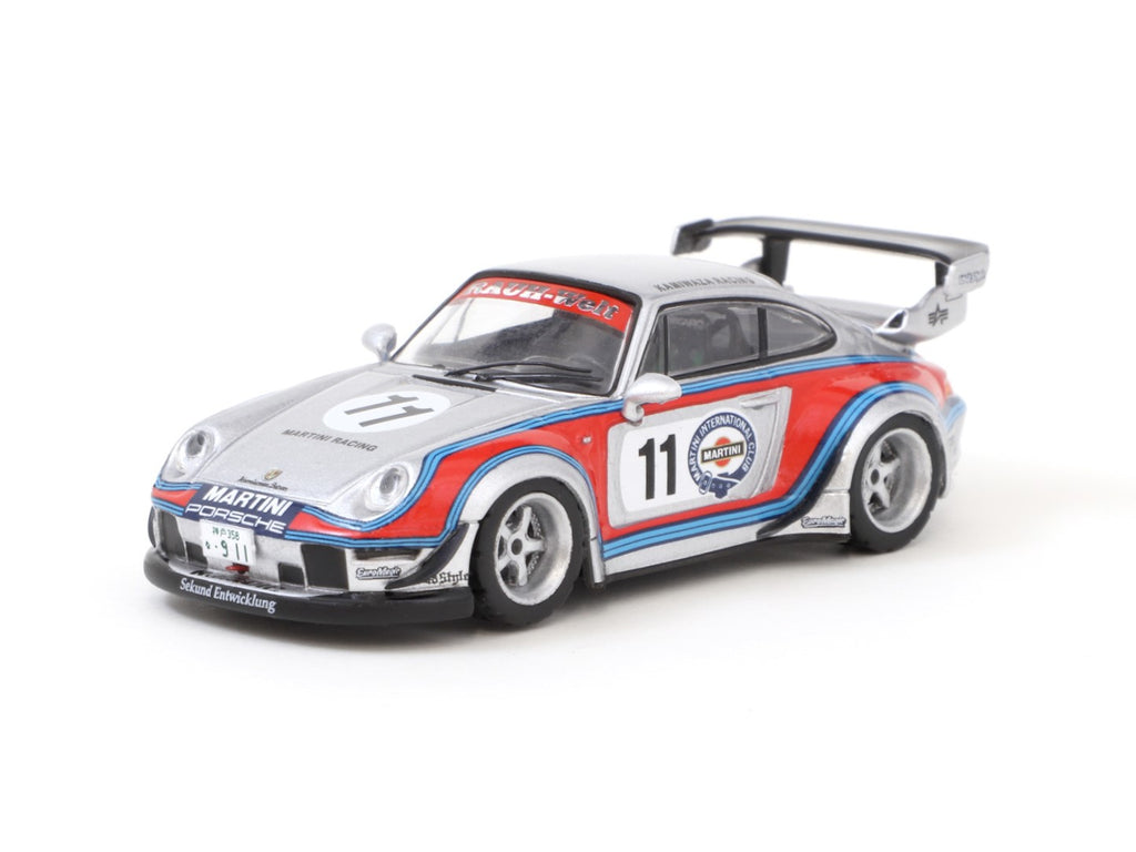 Tarmac Works 1/64 RWB 993 Rough Rhythm #11 - Webstore Special Edition - HOBBHY64