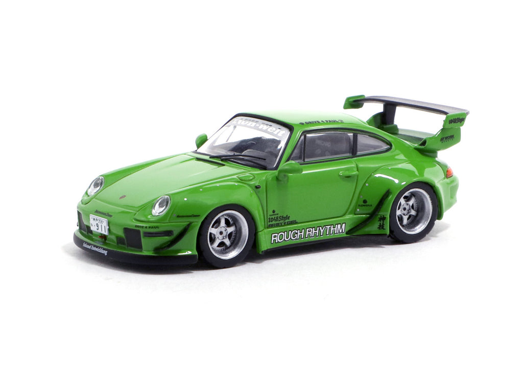 *MiniCar Festival Hong Kong 2019 Special Edition* Tarmac Works 1/64 RWB 993 Rough Phythm