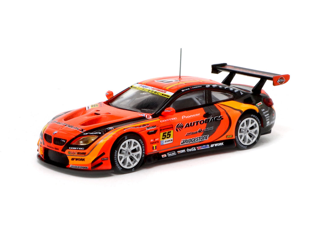 Tarmac Works 1/64 BMW M6 GT3 Super GT Series GT300 2017 #55 - MiniCar Festival Taiwan 2019 Special Edition - HOBBY64
