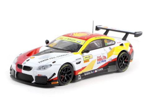 Tarmac Works 1/64 BMW M6 GT3 Macau GT Cup - FIA GT World Cup 2018 #42 Winner - Macau GP 2019 Special Edition - HOBBY64