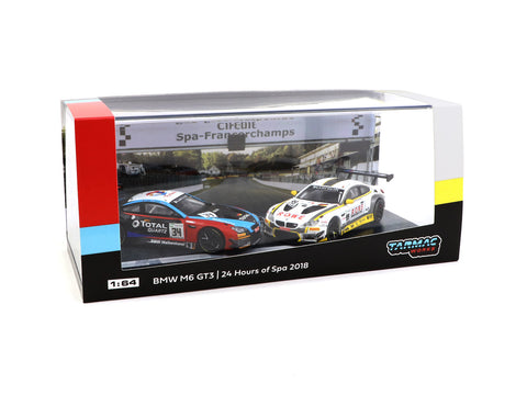 *MiniCar Festival Hong Kong 2019 Special Editionl* Tarmac Works 1/64 BMW M6 GT3 24 Hours of Spa 2018 Boxset