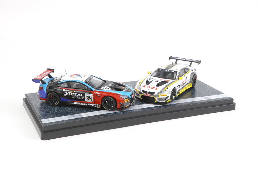 *MiniCar Festival Hong Kong 2019 Special Edition* Tarmac Works 1/64 BMW M6 GT3 24 Hours of Spa 2018 Boxset