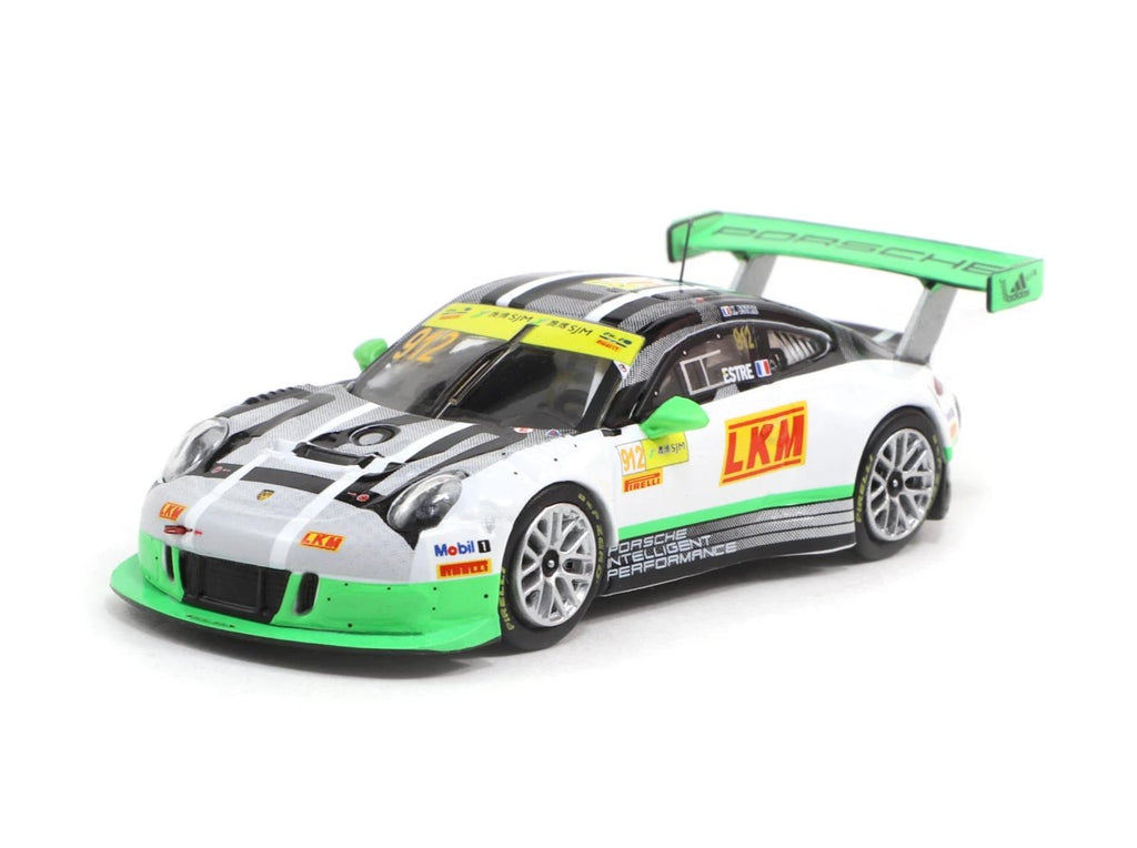 Tarmac Works 1/64 Porsche 911 GT3 R Macau GT Cup - FIA GT World Cup 2016 #912 2nd Place - HOBBY64