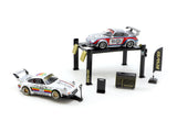 Tarmac Works 1/64 Accessories Garage Tools Set RWB