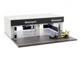 Tarmac Works 1/64 Accessories Pit Garage Diorama - BMW - PARTS64