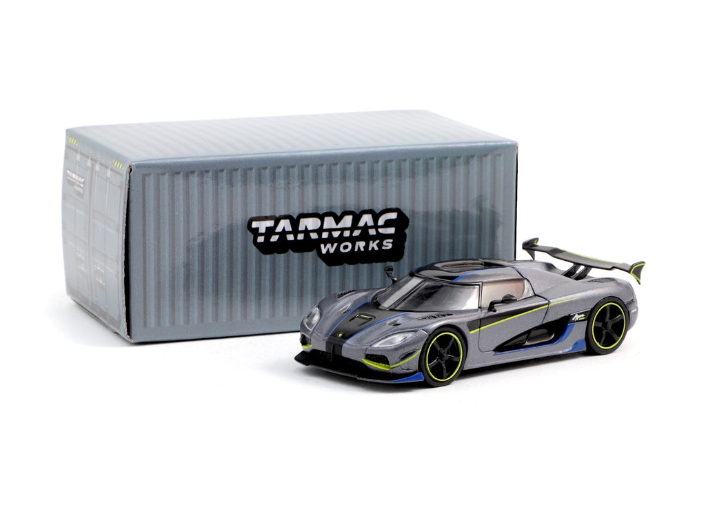 Tarmac Works 1/64 Koenigsegg Agera Prototype Grey - GLOBAL64