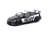 Tarmac Works 1/64 Mercedes-Benz C63 AMG Coupé Black Series Police Car - GLOBAL64