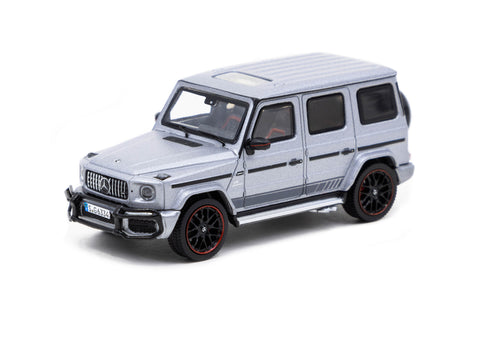 Tarmac Works 1/64 Mercedes-AMG G63 Matte Grey - ROAD64