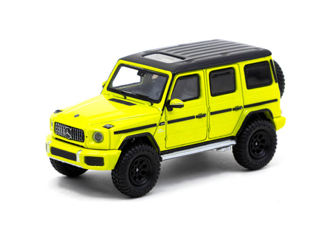 Tarmac Works 1/64 Mercedes-AMG G63 Electric Beam/Yellow - WebStore Special Edition - ROAD64