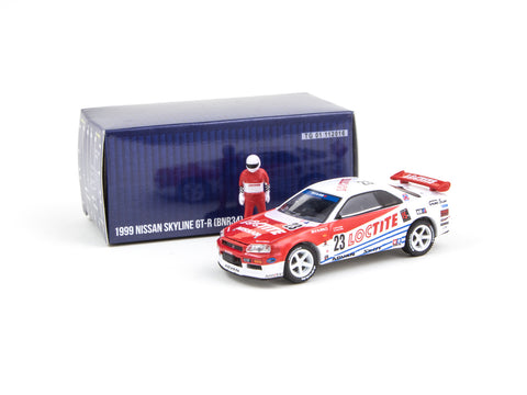 Greenlight x Tarmac Works 1/64 Nissan Skyline GT-R R34 Loctite