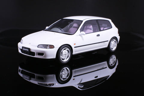 Tarmac Works 1/18 Honda Civic EG6 SiR II White