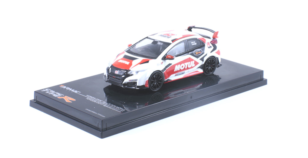 *LIMIT TO 2 PER PERSON* Tarmac Works HOBBY64 1/64 Honda Civic Type R FK2 Motul Version - Special Edition