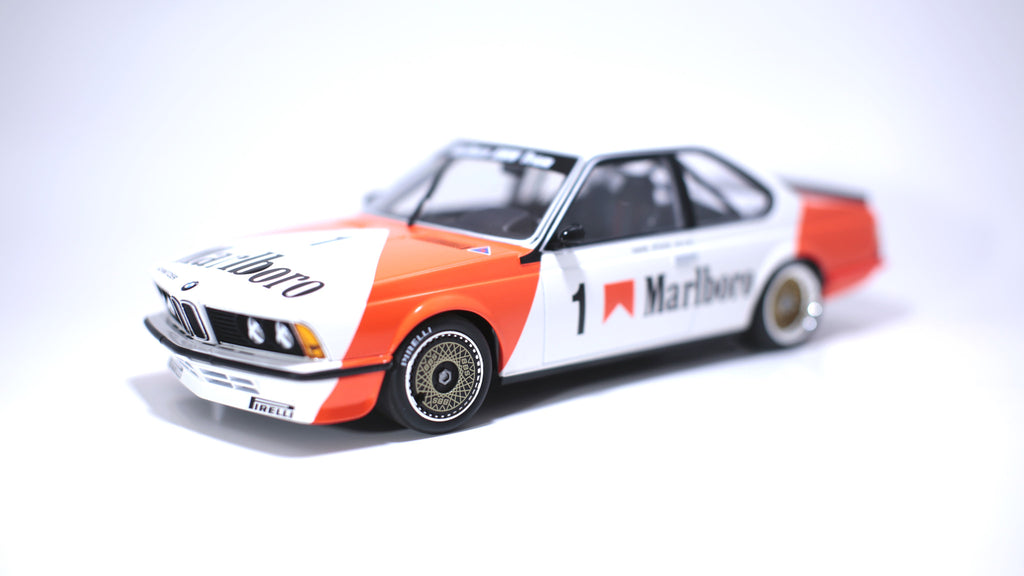 Minichamps x Tarmac Works 1/18 BMW 635csi 1984 Macau GP w/decals