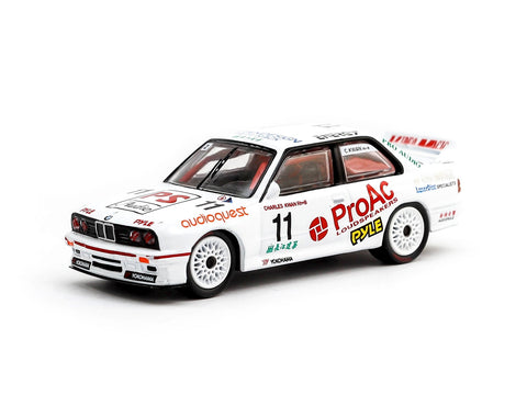 Tarmac Works 1/64 BMW M3 (E30) Macau Guia Race 1993 #11 Winner - Macau GP 2018 Special Edition - HOBBY64