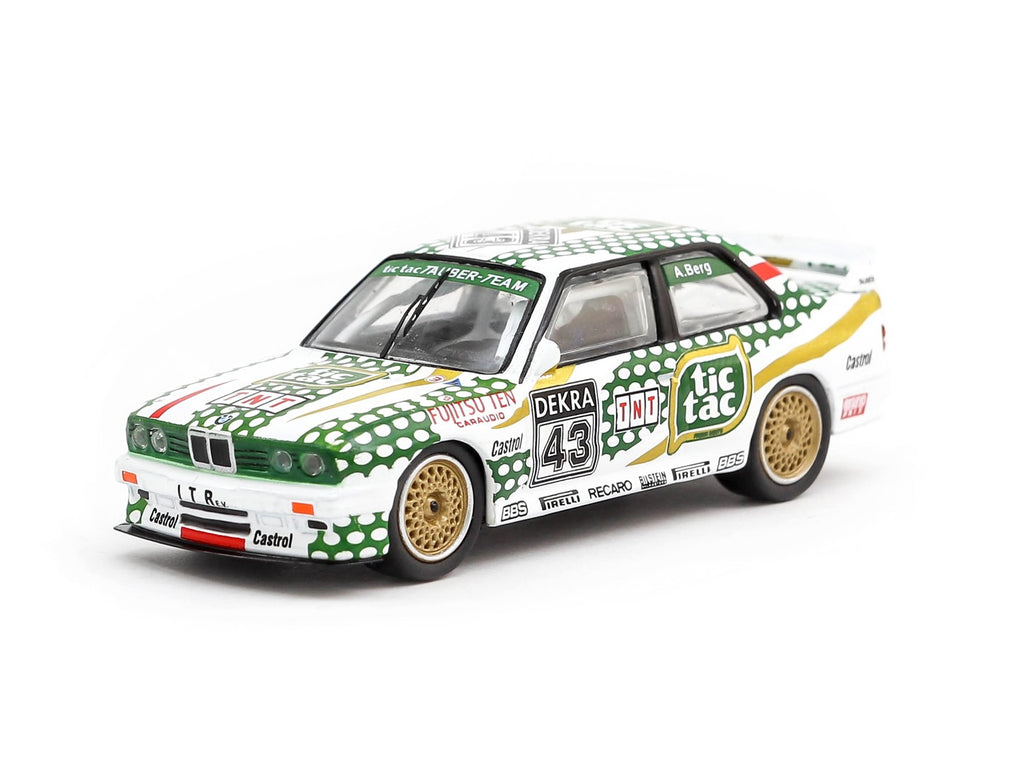 Tarmac Works 1/64 BMW M3 (E30) DTM 1991 #43 - Singapore Exclusive Model - HOBBY64