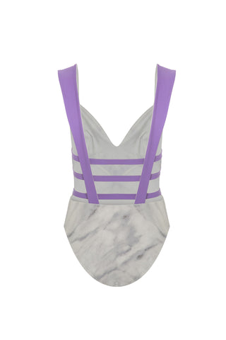Purple Marble One Piece