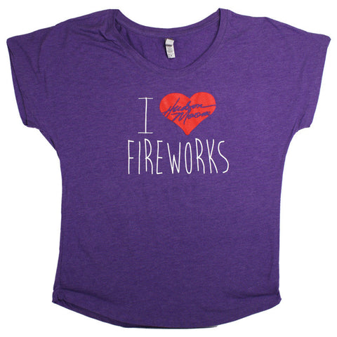 Fireworks Scoop T-Shirt