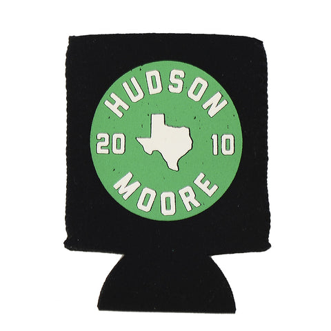 Green Texas Koozie