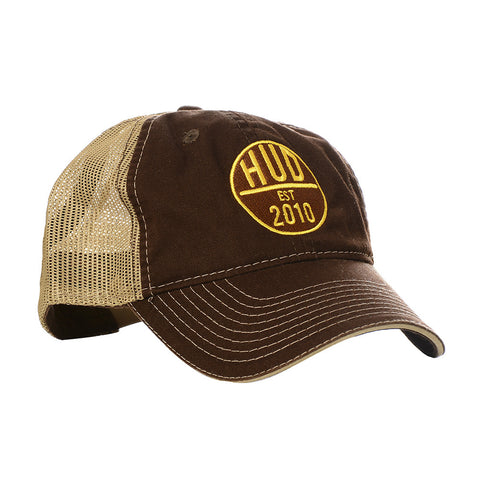 Brown HUD Trucker Hat