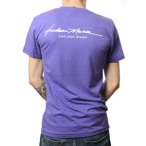 Live Your Dreams Purple T-Shirt