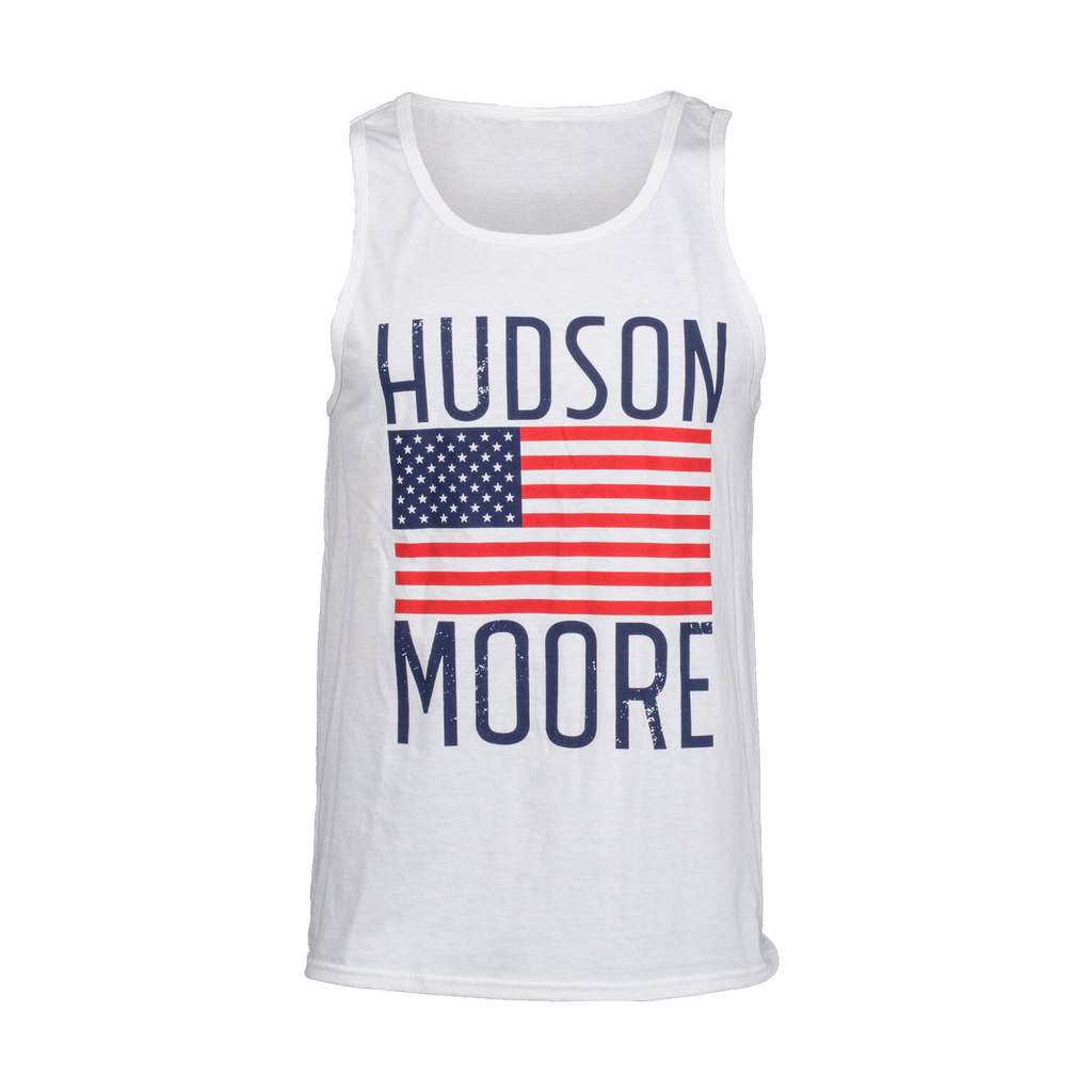Loose-Fit American Flag Tank