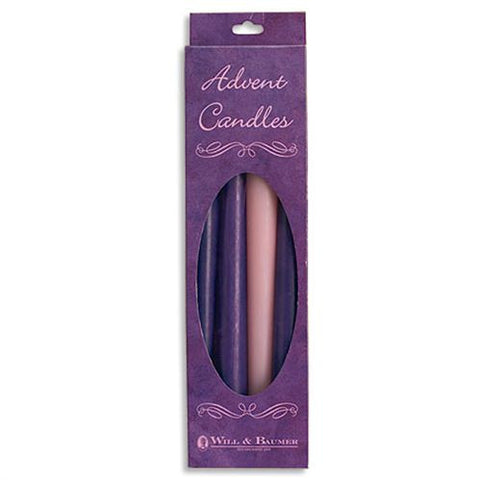 Advent Taper Candle Set  10""