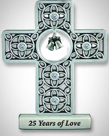 Twenty-Five Year Anniversary Cross