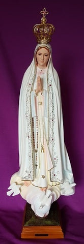 Our Lady of Fatima Statue 47cm
