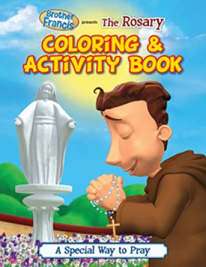 Brother Francis Colouring Book The Rosary