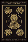 Ignatius Catholic Study New Testament    RSV Leather Bound