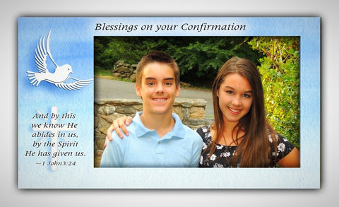 Confirmation Dove Frame
