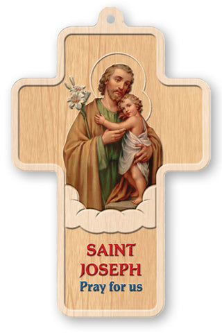 Laser Cut Cross St. Joseph