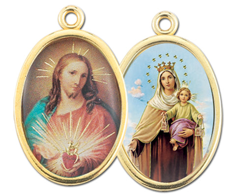 Scapular Picture Medal