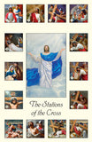 Stations of the Cross Holy Cards HG 262