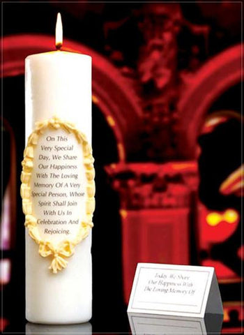 Remembrance/Memorial Candle