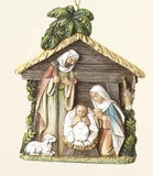 Holy Family Ornament  4""