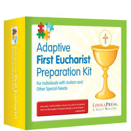 Adaptive First Eucharist Preparation Kit For Individuals with Autism and Other Special Needs