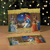 Silent Night, Holy Night 3-D Stand Up Nativity