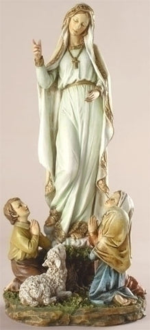 Our Lady Of Fatima Statue 12""