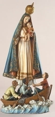 Caridad Del Cobre Statue (Virgin of Charity) 13""