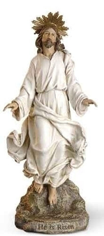 Christ Has Risen Statue  12""