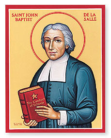 st john baptiste de la salle icon joseph 39 s inspirational. Black Bedroom Furniture Sets. Home Design Ideas